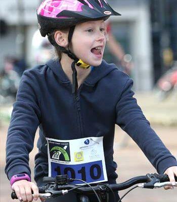 child bike rider